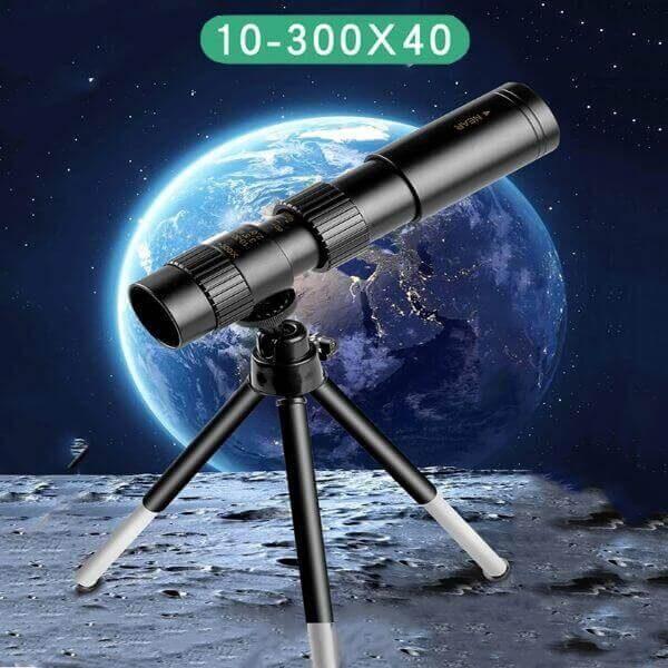 4K 10-300X40MM SUPER MONOCULAR TELESCOPE