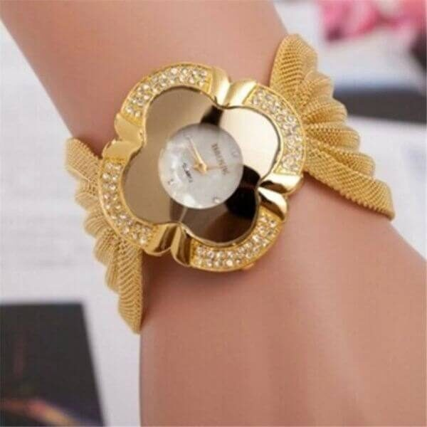 ELEGANT BUTTERFLY BRACELET WATCH