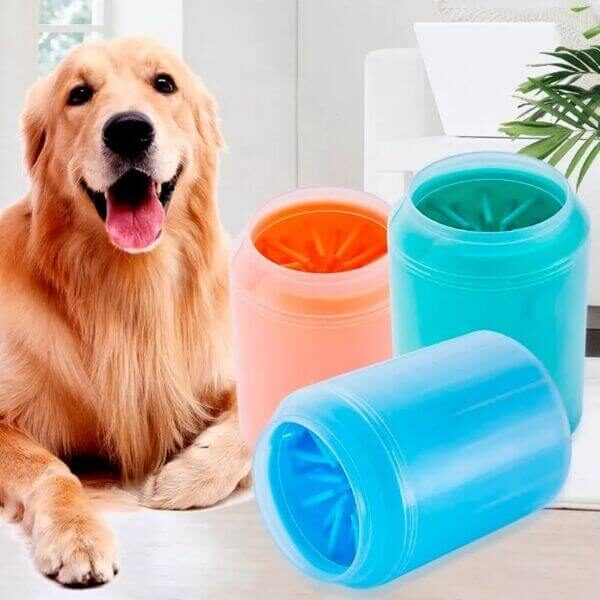 SILICONE DOG PAW CLEANER CUP