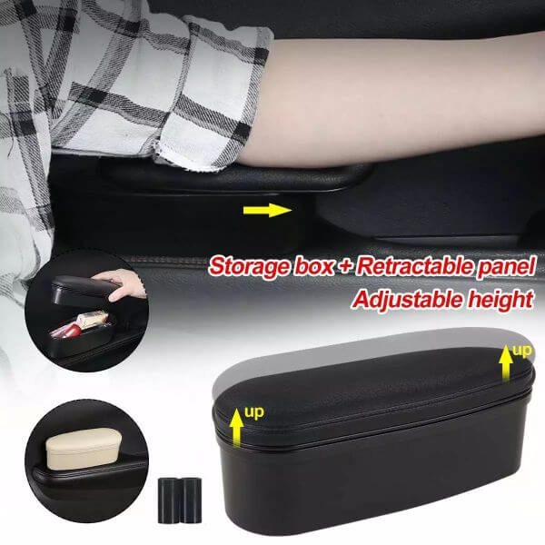 CAR ELBOW SUPPORT STORAGE BOX