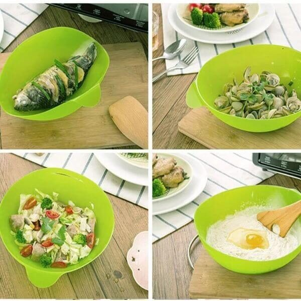 MULTI MICROWAVE OVEN FISH STEAM BOWL