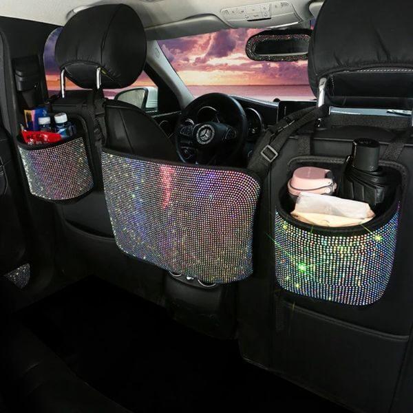 DIAMOND CAR SEAT STORAGE BAG