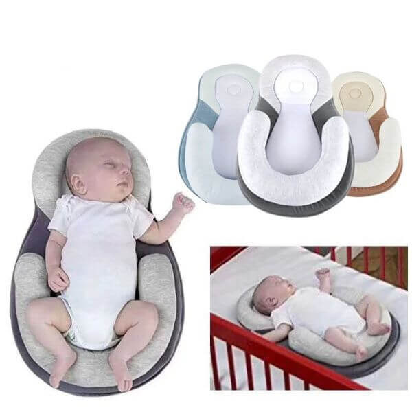ANTI-ROLLOVER SHAPED PILLOW
