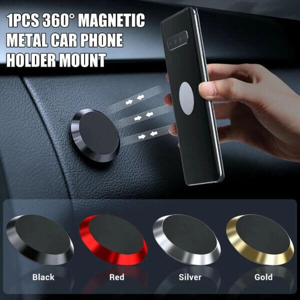 UNIVERSAL 360 DEGREE MAGNETIC PHONE HOLDER
