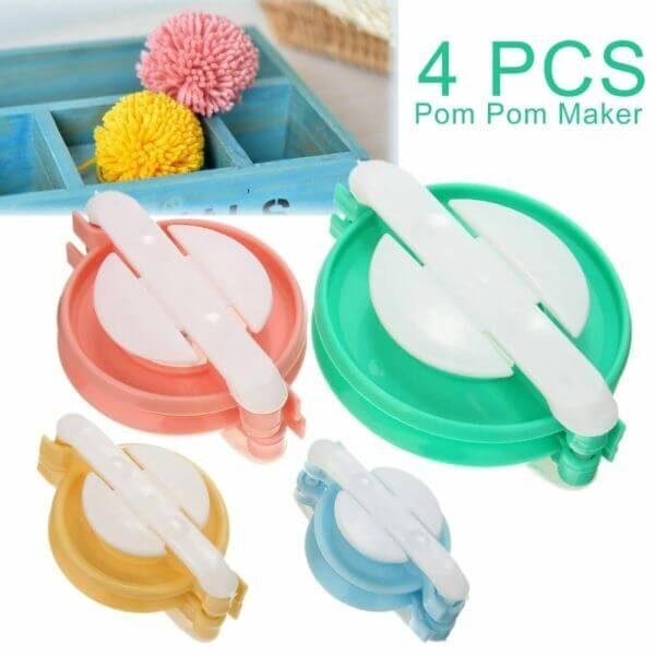 4PCS POM-POM MAKER