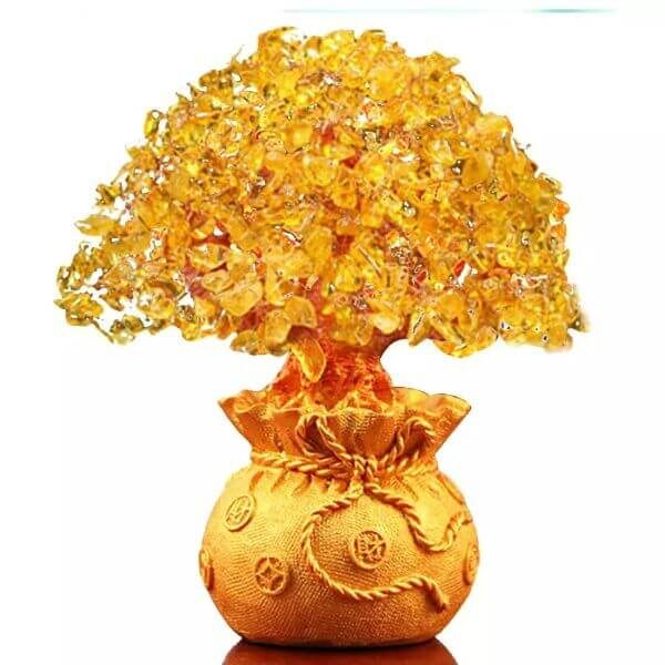 NATURAL CRYSTAL FENG SHUI TREE