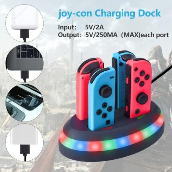 SWITCH CONTROLLER CHARGER