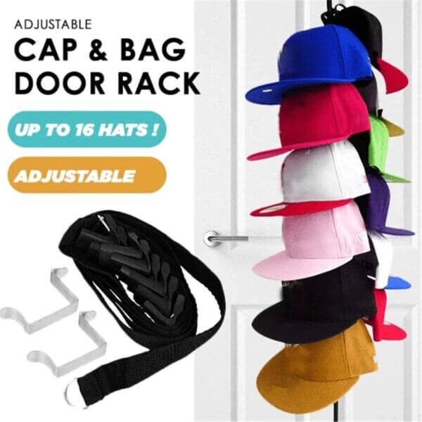 CAP RACK BAG HAT HOLDER