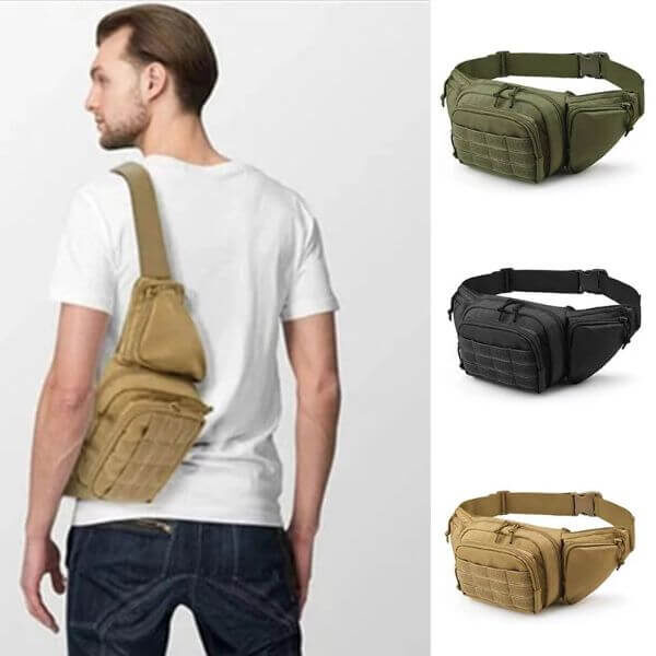 ULTIMATE TACTICAL FANNY PACK HOLSTER