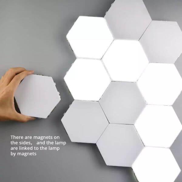 HEXAGONAL CREATIVE LED LIGHTS