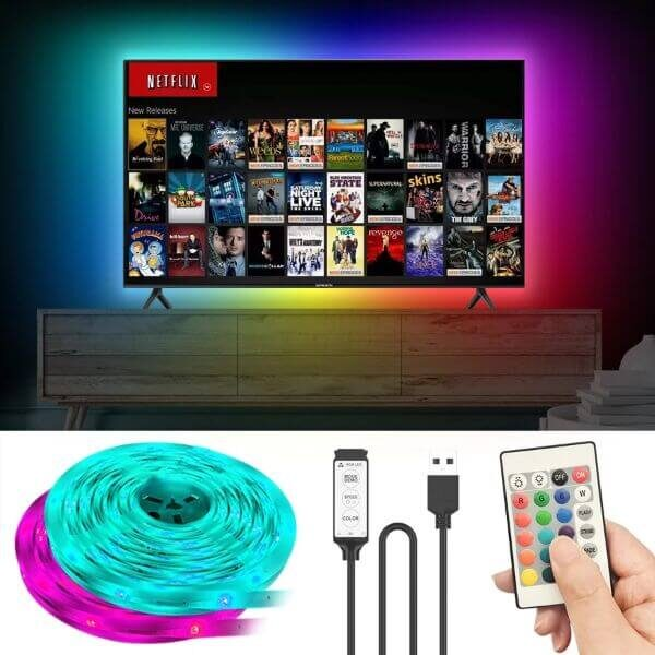 TV or PC SCREEN USB LED STRIP AMBIENT LIGHT