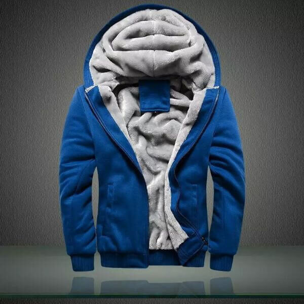 WINTER CASUAL HOODED COAT