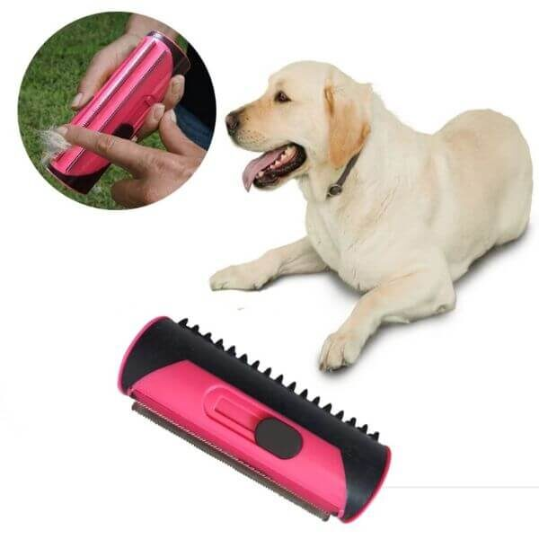 PET HAIR REMOVAL CLEANING BRUSH