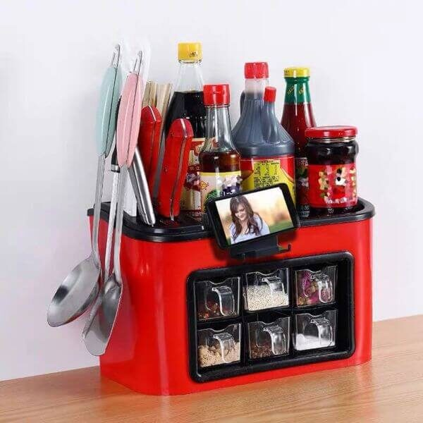MULTIFUNCTIONAL SEASONING BOX RACK