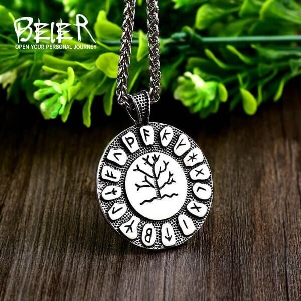NORDIC FAITH TREE NECKLACE