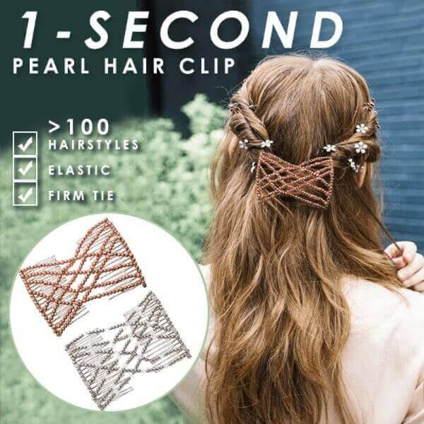 1 SECOND PEARL HAIR CLIP
