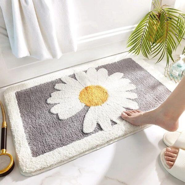 DAISY NON-SLIP BATHROOM MAT